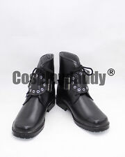 Final Fantasy VIII Squall Leonhart Daily Short Adult Cosplay Black Shoes X002