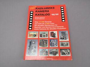 Kadlubeks Kamera Katalog 98/99 3.erweiterte Ausgabe Deutsche Ausgabe