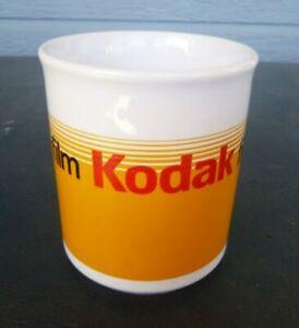 vintage Kodak film coffee mug cup advertising