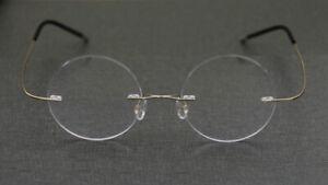 Custom Prescription Fashion Unisex Glasses Titanium Frame Varifocal Lens Eyewear