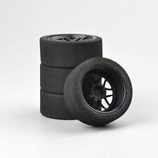 Set of 4PCS  Foam Tire Tyre Wheel Rims Set For 1:10 On-Road RC Model Racing Car