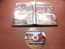 Microsoft Xbox 360 Disc No Manual Midnight Club Los Angeles Complete Edition