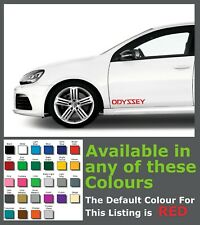 Honda ODYSSEY Premium Side Decals/Stickers x 2