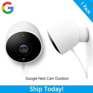 Google Nest Cam Outdoor Weatherproof Outdoor Camera for Home Security Camera