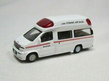 "N scale TOMYTEC  Nissan Paramedics  AMBULANCE "" Komaki Air Base"""