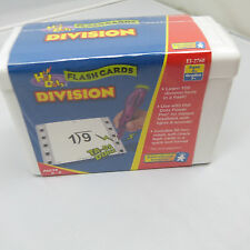 THE NICKEL STORE: DIVISION FLASHCARDS, FACTS 0-9, BRAND NEW (B15)