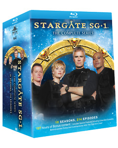 Stargate SG-1:The Complete Series Collection on Blu-ray (Region USA & Canada)