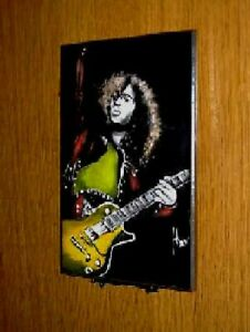 Jimmy Page Wall Plaque  by Rock Legends Wall Art