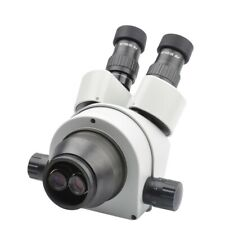 Trinocular Zoom Stereo Microscope Head 7x 45x Simul Focal With Ctv Ccd Adapter