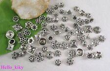 150 pcs Tibetan silver Mixed style Bead Caps M3601
