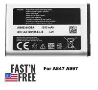 OEM Samsung AB663450BA Rugby II 2 A847 Rugby III 3 A997 AB663450BU Battery