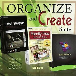 Organize and Create Software Suite - Image Broadway - Family Tree - Paperport 14