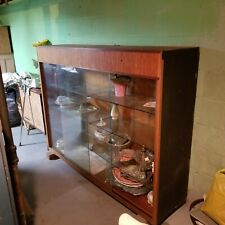 Vintage Display Case, Sliding Glass Doors