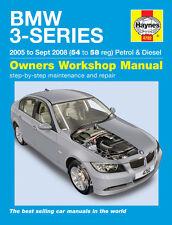 BMW 3-Series E90 E91 2005-2008 Haynes Manual 4782 NEW
