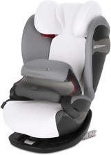 Cybex Summer Cover, For Cybex Car Seats Pallas S-Fix & Solution S-Fix, White