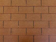 Dachschindeln 27 m? Rechteck Form Braun (9 Pakete) Schindeln Dachpappe