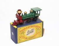 Lesney Matchbox Models Of Yesteryear No 13 American 4-4-0 Locomotive In Box