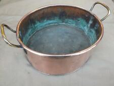 VINTAGE COPPER PLANT POT HOLDER