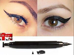 UK Winged Wing Eyeliner Stamp  Black Waterproof, Fashion, Vamp, C115