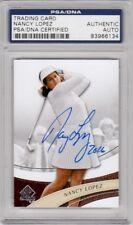 Nancy Lopez LPGA 2014 SP Authentic Golf Signed AUTOGRAPH PSA DNA