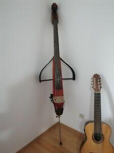 5 saitige E-Kontrabass (klappbar, von Instrumentenbauer)