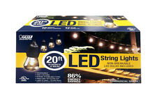 FEIT Electric LED Lantern Light String Clear 20 ft. L MFG Number:72026