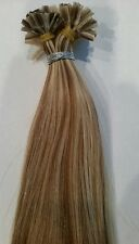 "U-Tip Pre-Bond Extensions Finest European Remy Hair 100 Strand 18"" Color #12/613"