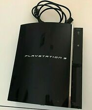 PlayStation 3 Launch Edition Video Game Console TESTED and WORKS No Controllers