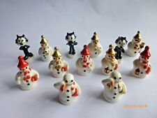 Wade  Various SNOWMAN Whimsies and FELIX  Whimsies
