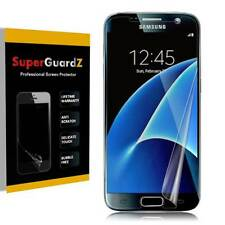 2X SuperGuardZ Clear [FULL COVER] Screen Protector Shield For Samsung Galaxy S7