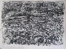 COTTAVOZ ANDRÉ LITHOGRAPHIE 1963 SIGNÉE CRAYON NUM/30 HANDSIGNED NUMB LITHOGRAPH