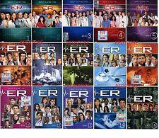 ER E.R. Medici in Prima Linea La Serie completa da 1 a 15 Cof. Singoli (49 DVD)