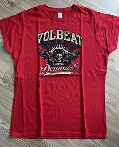VOLBEAT T-Shirt Damen Rot *NEU* Größe XXL