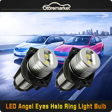Total 20W CREE Led  Headlight Angel Eye Ring Marker Halo For BMW E90 E91 3 Serie