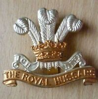 Badge- British Army The Royal Hussars Cap Badge