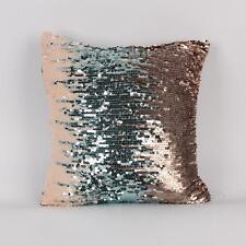 New Shiny Beaded Cushion Cover Sequin Mermaid Cushion Cover Decorative Pillow