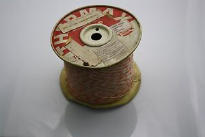 THERMAX 50 FT Silver-Plated Wire 26 AWG 600V M16878/6-BDE93 WHT/ORN