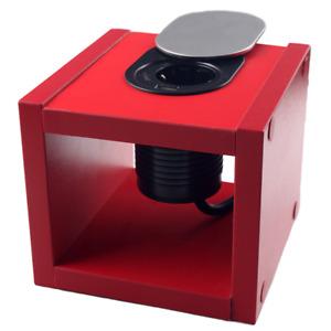 Pop Up Desk & Kitchen & Table Socket 16A EU Power Outlet with 1 Plug+1 USB Port