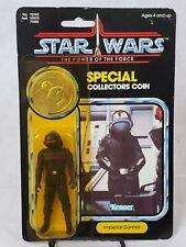 Vintage Star Wars 1985 KENNER IMPERIAL GUNNER POTF 92 Card Back MOC!