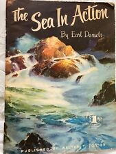 The Sea in Action #83 by Earl Daniels. A Walter T. Foster Publication