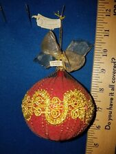Ball Ornament Victorian Style Department 56 German 40215 256