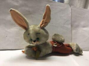 Vintage Comical Bunny Rabbit.. Rabbit Stuffed Toy.. Vintage Toy