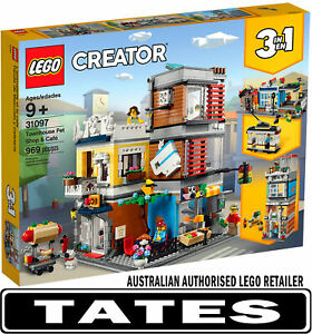 LEGO 31097 Townhouse Pet Shop and Cafe  - Creator  3-in-1  from Tates Toyworld