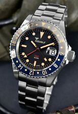 Brand New Squale 1545 30 Atmos Tropic GMT Ceramica Watch Full Set Under Warranty