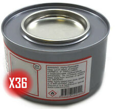 More details for box of 36 tins 2+ hour chafing gel fuel for buffets / food warming / chafing set