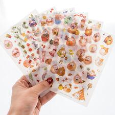 New 6 sheet molang rabbit ver.4 calendar diary planner Decorative stickers
