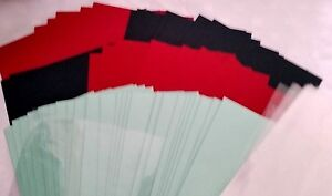 REDUCED   CHRISTMAS RED & GREEN A4 CARD, ENVELOPES & PRESENTATION BAGS - 30 SET