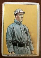1911 General Baking D304 HOF E Collins Nice Centering No Creases Raw G/G+