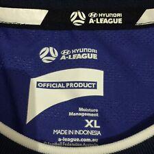 Hyundai A League Moisture Management XL Shiny Blue Colourway Jersey VGC 2019