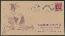 "#680 ""AN AMERICAN INDIAN"" FDC BEAZELL CACHET MAUMEE, OH CDS CV $525 BS2582"